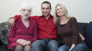 31jarige met 91jarige